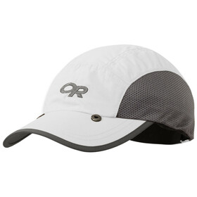 Outdoor Research Sun Runner Gorra, white